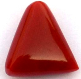 6.3-ratti-certified-triangular-red-coral-gemstone
