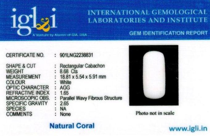 10-ratti-certified-whitecoral Certificate (ID-118)