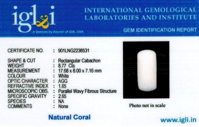 10-ratti-certified-whitecoral Certificate (ID-120)