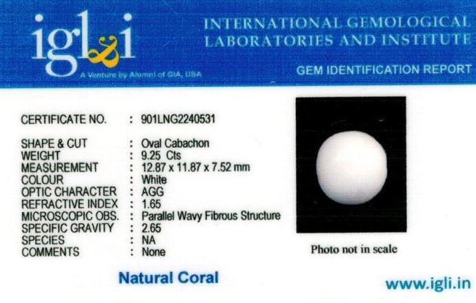 10.25-ratti-certified-whitecoral Certificate (ID-122)