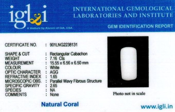 8-ratti-certified-whitecoral Certificate (ID-103)
