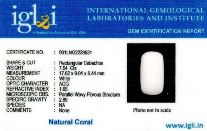 8.25-ratti-certified-whitecoral Certificate (ID-109)