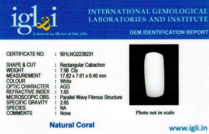 9-ratti-certified-whitecoral Certificate (ID-114)