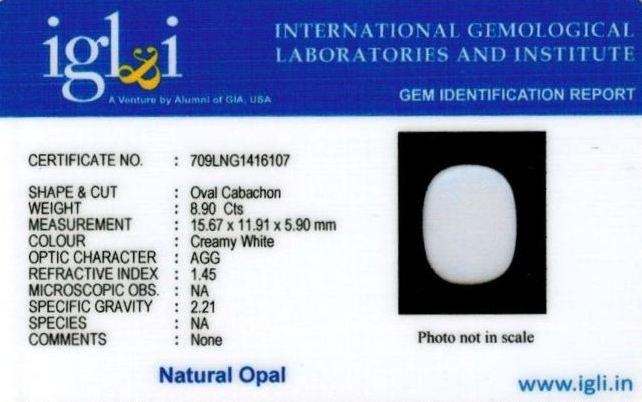 10-ratti-certified-whiteopal-stone Certificate (ID-142)