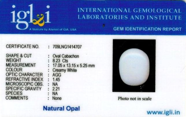 9.25-ratti-certified-whiteopal-stone Certificate (ID-137)