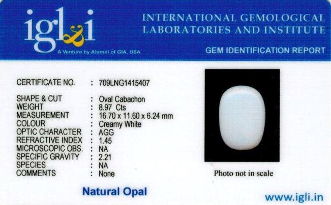 10-ratti-certified-whiteopal-stone Certificate (ID-143)