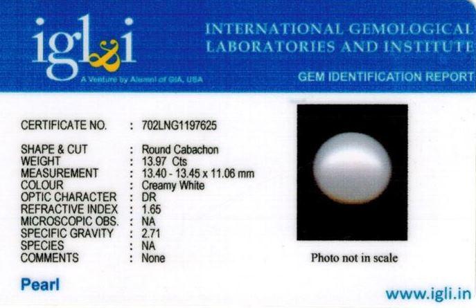 16-ratti-certified-white-pearl-stone Certificate (ID-129)
