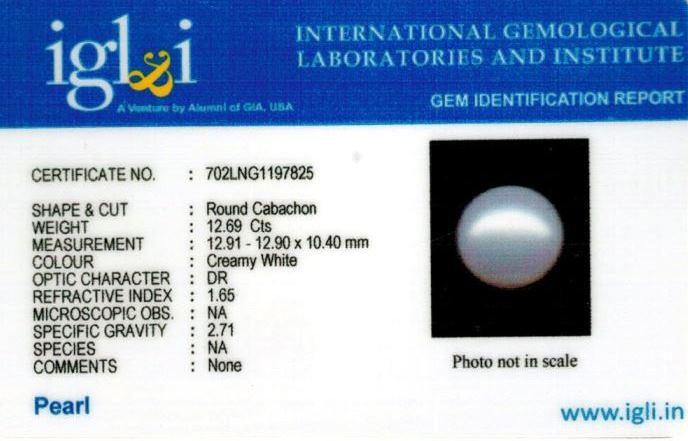 14.25-ratti-certified-white-pearl-stone Certificate (ID-126)