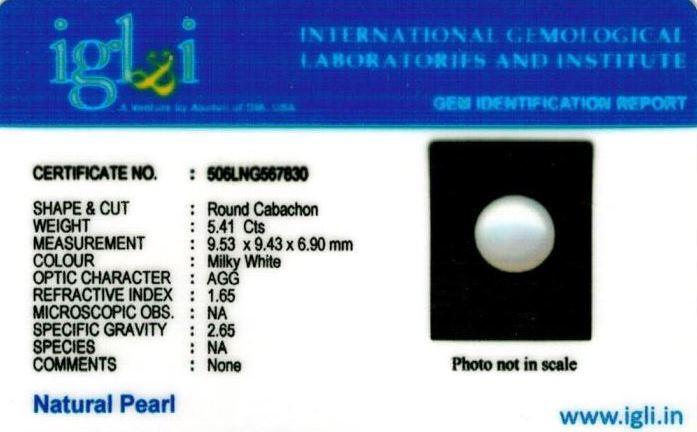 6.25-ratti-certified-white-pearl-stone Certificate (ID-130)