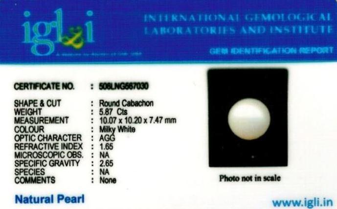 7-ratti-certified-white-pearl-stone Certificate (ID-132)
