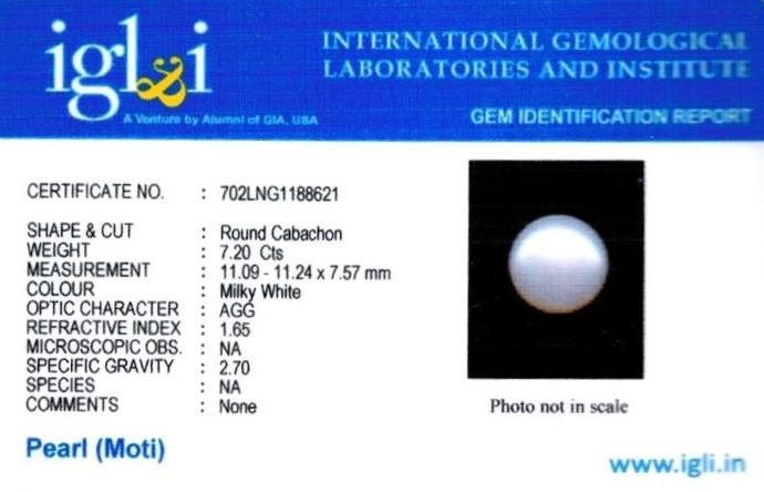 8.25-ratti-certified-white-pearl-stone Certificate (ID-145)