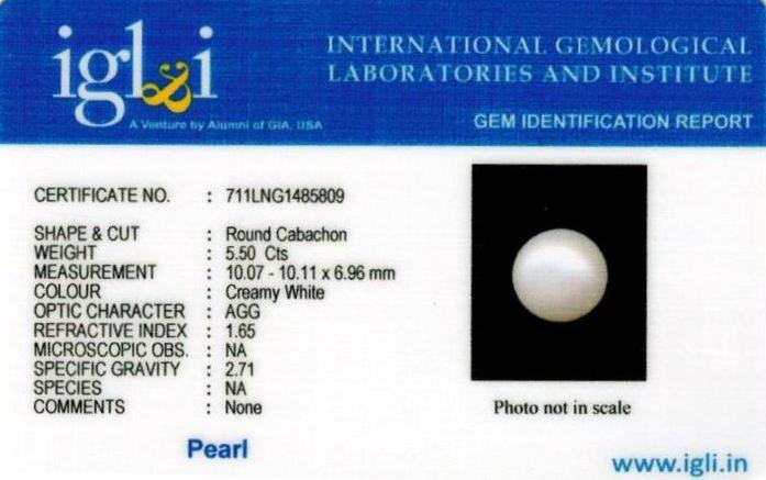 6.25-ratti-certified-white-pearl-stone Certificate (ID-157)
