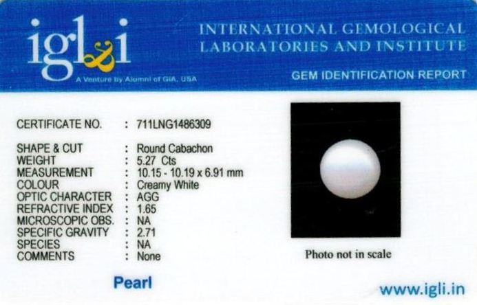 6-ratti-certified-white-pearl-stone Certificate (ID-154)