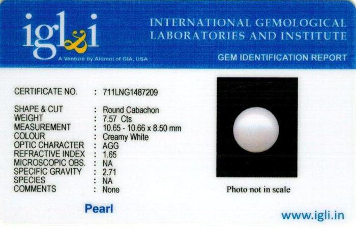 8.25-ratti-certified-white-pearl-stone Certificate (ID-171)
