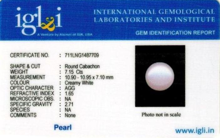8-ratti-certified-white-pearl-stone Certificate (ID-166)