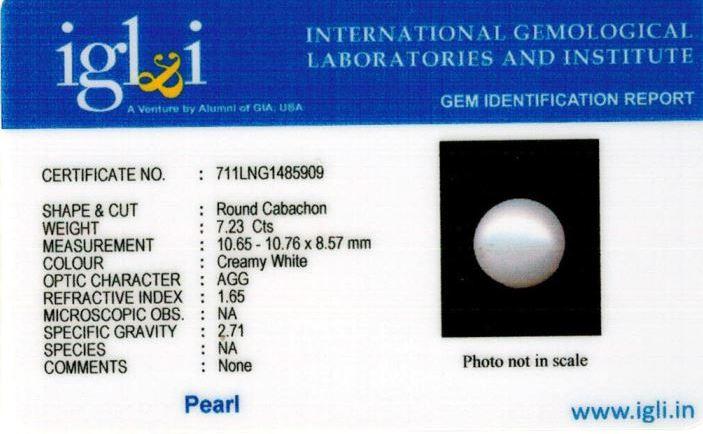 8.25-ratti-certified-white-pearl-stone Certificate (ID-168)