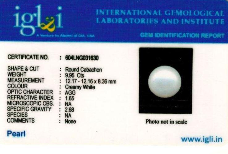 11.25-ratti-certified-white-pearl Certificate (ID-209)