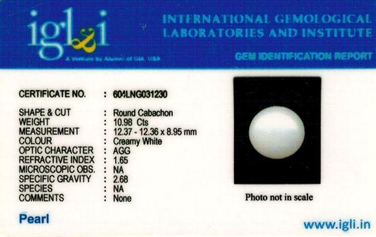 12.25-ratti-certified-white-pearl Certificate (ID-200)