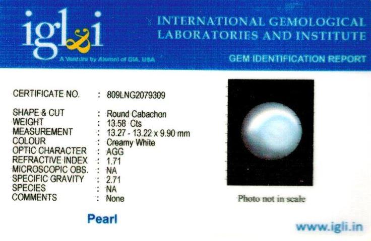15.25-ratti-certified-white-pearl Certificate (ID-205)