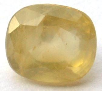 Buy 7.25 Ratti Natural Yellow Sapphire (Pukhraj) Online