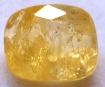 Buy 5 Carat Natural Yellow Sapphire (Pukhraj) IGLI Certified