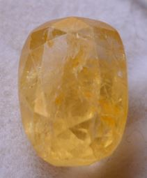 Buy 7 Carat Natural Yellow Sapphire (Pukhraj) IGLI Certified