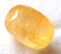 Buy 8 Carat Natural Yellow Sapphire (Pukhraj) IGLI Certified
