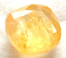 Buy 8 Carat Natural Yellow Sapphire (Pukhraj) IGLI Certified