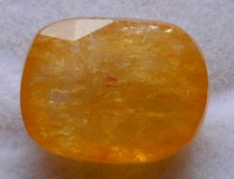 Buy 9 Carat Natural Yellow Sapphire (Pukhraj) IGLI Certified