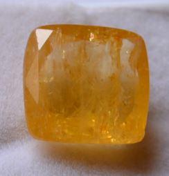 Buy 9.25 Ratti Natural Yellow Sapphire (Pukhraj) Online