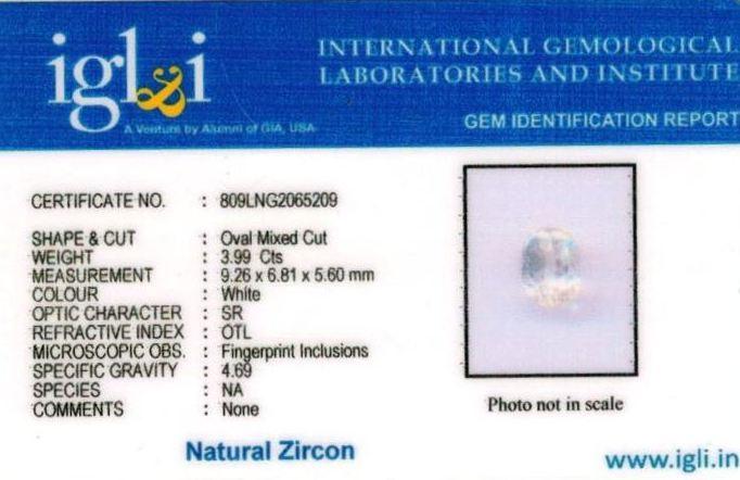 4.25-ratti-certified-zircon Certificate (ID-123)
